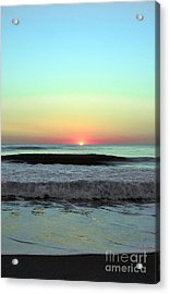 Ocean Tides Series Acrylic Print by Terry Troupe