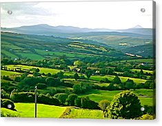 Acrylic Print featuring the photograph 50 Shades Of Green by Charlie and Norma Brock