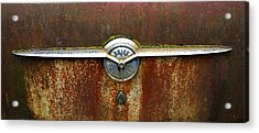 54 Buick Emblem Acrylic Print by Steve McKinzie