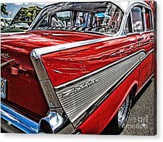 Acrylic Print featuring the photograph 57 Chevy by Joe Finney