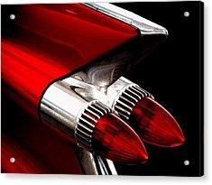 '59 Caddy Tailfin Acrylic Print by Douglas Pittman