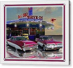 59 Pontiac Acrylic Print by John Breen