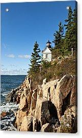 Bass Harbor Lighthouse Acrylic Print by John Greim