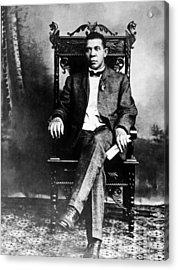 Booker T. Washington 1856-1915 Acrylic Print by Everett