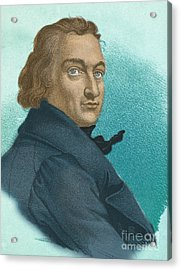 Claude-louis Berthollet, French Chemist Acrylic Print by Science Source