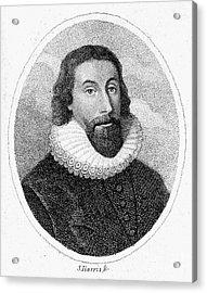John Winthrop (1588-1649) Acrylic Print by Granger