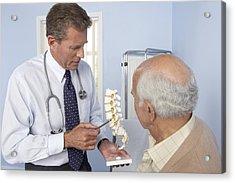 Medical Consultation Acrylic Print by Adam Gault