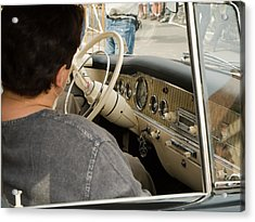 Old Car Acrylic Print by Odon Czintos