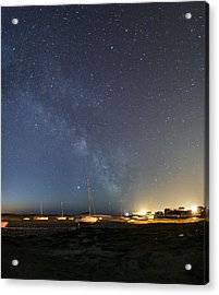 Stars In A Night Sky Acrylic Print by Laurent Laveder