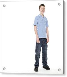 Teenage Boy Acrylic Print by