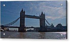 Tower Bridge Acrylic Print by Dawn OConnor