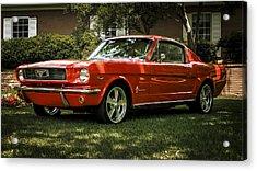 '66 Mustang Acrylic Print