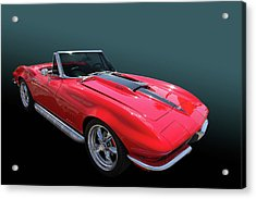 Acrylic Print featuring the photograph 67 427 Roadster by Bill Dutting