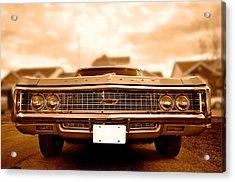 69 Impala Acrylic Print by Andre Faubert