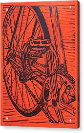 Bike 3 Acrylic Print by William Cauthern