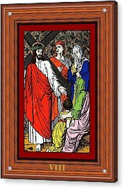 Drumul Crucii - Stations Of The Cross  Acrylic Print by Buclea Cristian Petru