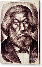 Frederick Douglass Acrylic Print by Granger