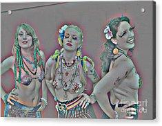 Mermaid Parade 2011 Coney Island Acrylic Print