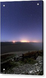 Night Sky Acrylic Print by Laurent Laveder