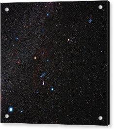 Orion Constellation Acrylic Print by Eckhard Slawik