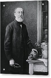 Rudolph Virchow, German Polymath Acrylic Print by Science Source