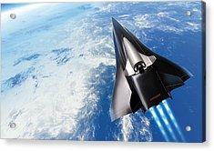 Saenger Horus Spaceplane, Artwork Acrylic Print