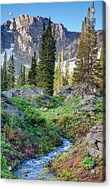 Wasatch Mountains Utah Acrylic Print by Utah Images