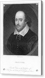 William Shakespeare Acrylic Print by Granger