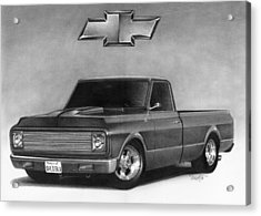 70 Pickup Acrylic Print