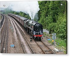 70013 Oliver Cromwell Acrylic Print