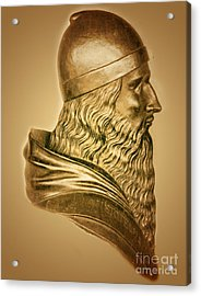 Aristotle, Ancient Greek Philosopher Acrylic Print by Science Source