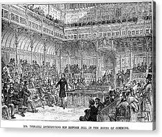 Benjamin Disraeli (1804-1881) Acrylic Print by Granger