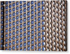 Chicago Architecture Acrylic Print by Paul Plaine