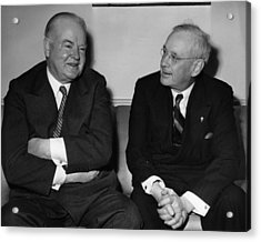 Former President Herbert Hoover Acrylic Print by Everett