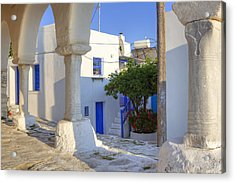 Paros - Cyclades - Greece Acrylic Print by Joana Kruse