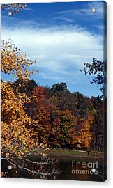 Patoka Lake - Indiana Acrylic Print by Jack R Brock
