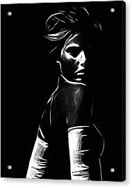 The Look Acrylic Print by Steve K