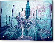 The Space Between Acrylic Print by Keenpress