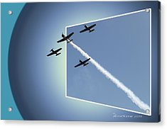 8027 Letting Off Steam Acrylic Print by EricaMaxine  Price