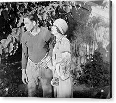 Silent Film Still: Couples Acrylic Print by Granger