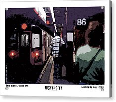 86th Street Acrylic Print by Kenneth De Tore