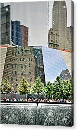 9/11 Memorial Acrylic Print by Gwyn Newcombe