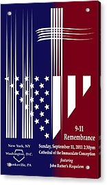 9-11 Rememberance Acrylic Print