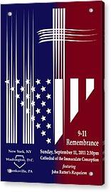 9-11 Rememberance Acrylic Print