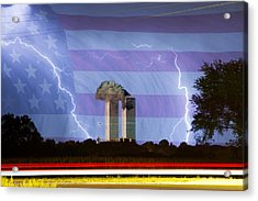 9-11 We Will Never Forget 2011 Acrylic Print by James BO  Insogna