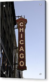 Acrylic Print featuring the photograph Chicago Architecture by Paul Plaine
