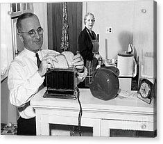 Harry S. Truman (1884-1972) Acrylic Print by Granger