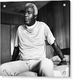 Jackie Robinson (1919-1972) Acrylic Print by Granger