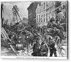 Johnstown Flood, 1889 Acrylic Print by Granger