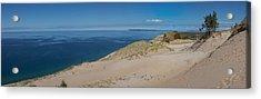 Sleeping Bear Dunes Panorama Acrylic Print